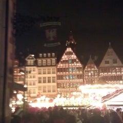 Photo taken at Frankfurter Weihnachtsmarkt by Dirk H. on 12/15/2012