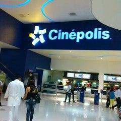 Photo taken at Cinépolis by Roberts L. on 10/5/2012