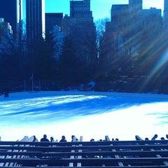 Photo taken at Wollman Ice Skating Rink by Matthew C. on 3/9/2013
