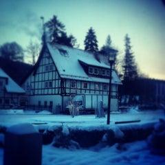 Photo taken at Dwor Oliwski Hotel Gdansk by Maciej on 1/25/2013