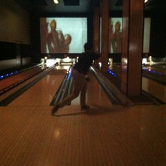 Photo taken at Grand Central Restaurant & Bowling Lounge by molly on 9/15/2013
