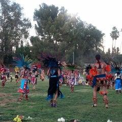 Photo taken at Villa Parke Community Center by Edgar M. on 7/18/2013