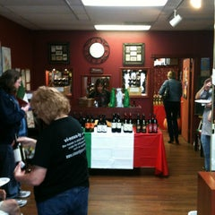 Photo taken at Vinously Speaking - An Eclectic Wine Shop & Blog by Robin E. on 2/9/2013