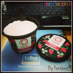 Photo taken at Colliers International Thailand by Ammy P. on 9/10/2013