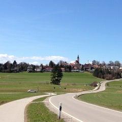 Photo taken at Gasthof zur Post Aufkirchen by Marco O. on 4/14/2013