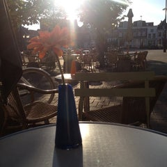 Photo taken at Grand Cafe Halewijn by Joet H. on 9/30/2013