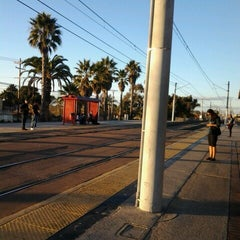 Photo taken at Palm Avenue Trolley Station by Anika G. on 11/19/2012