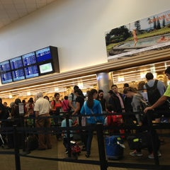 Photo taken at TSA Security Check Point by Fernanda B. on 8/13/2013