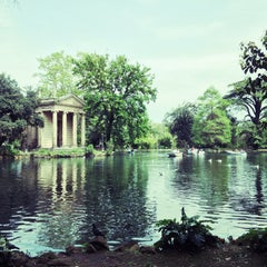 Photo taken at Villa Borghese by Dmitry P. on 4/25/2013