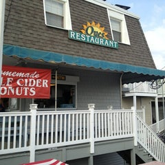 Photo taken at Oves Beach Grill by Cory on 8/21/2013