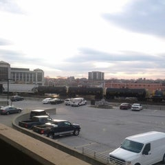 Photo taken at Bankers Life Fieldhouse Parking Garage by Aaron on 11/19/2012