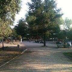 Photo taken at Parque Bustamante by Carlos on 1/3/2013