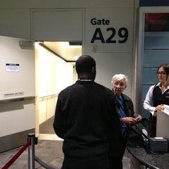 Photo taken at Gate A29 by Ken G. on 10/28/2012