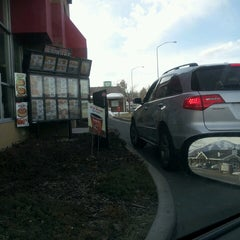 Photo taken at Carl's Jr. Green Burrito by Jay D. on 2/20/2013