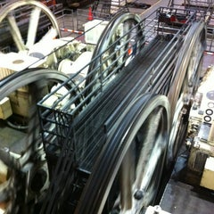 Photo taken at San Francisco Cable Car Museum by Brenda B. on 3/15/2013