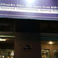 Photo taken at Quán Nem by Gyeonghwan M. on 10/14/2014