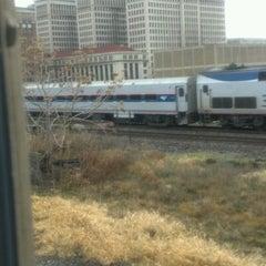 Photo taken at Detroit Amtrak Station (DET) by Tyrone on 12/8/2012