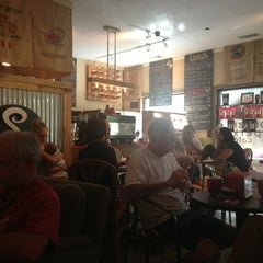 Photo taken at The Corner Perk Cafe, Dessert Bar, and Coffee Roasters by John B. on 7/19/2013