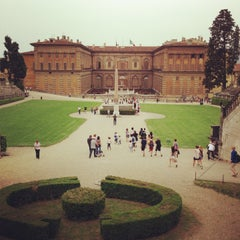 Photo taken at Palazzo Pitti by Keith E. on 5/1/2013