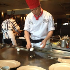 Photo taken at Yamato Japanese Restaurant by Jennifer D. on 12/22/2014