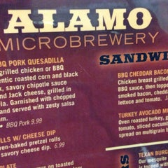 Photo taken at Alamo City Microbrewery & Grill by Mitchell N. on 3/12/2013