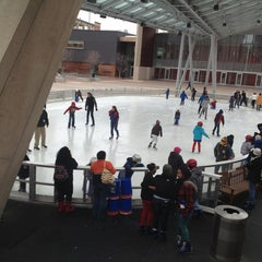 Photo taken at Silver Spring Ice Rink at Veterans Plaza by Jennifer S. on 3/2/2013
