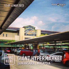 Photo taken at Giant Hypermarket by MOHD HARIZAL I. on 5/6/2013