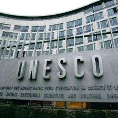 Photo taken at UNESCO by Jihad K. on 5/15/2013