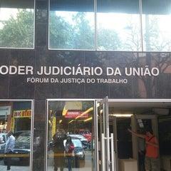 Photo taken at Tribunal Regional do Trabalho da 3ª Região by Ruy S. on 8/26/2015