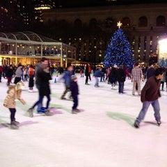 Photo taken at Bank of America Winter Village at Bryant Park by Svetlana I. on 12/21/2012
