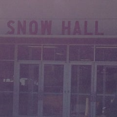 Photo taken at Snow hall by Elsa M. on 10/16/2012