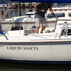 Photo taken at Westerly Marina by shannon k. on 8/21/2013