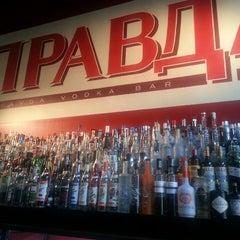 Photo taken at Pravda Vodka Bar by Daniele K. on 7/11/2013