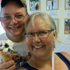 Photo taken at Flamingo Crossing Ice Cream by Beth N. on 7/25/2015