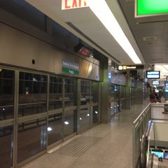 Photo taken at JFK AirTrain - Federal Circle Station by Aiden K. on 9/29/2012