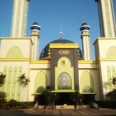 Photo taken at Masjid Agung AL-BARKAH Bekasi ® by arif w. on 3/22/2015