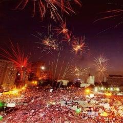 Photo taken at Tahrir Square   ميدان التحرير by Dua on 7/3/2013