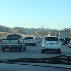 Photo taken at I-15/CA-15 (Escondido Fwy) by Christina on 9/20/2012