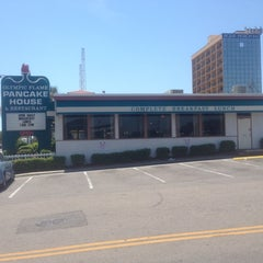 Photo taken at Olympic Flame Pancake House by Michael G. on 5/6/2014