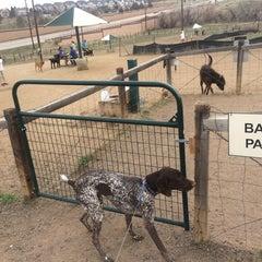 Photo taken at David Lorenz Dog Park by Vladislav D. on 3/30/2014