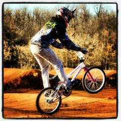 Photo taken at Yukon BMX Raceway by James Kyle V. on 1/7/2013