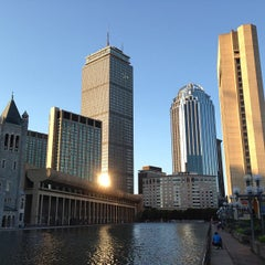 Photo taken at Christian Science Plaza by James L. on 6/16/2013