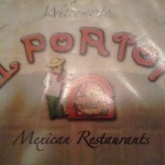 Photo taken at El Porton by Christy on 11/27/2012