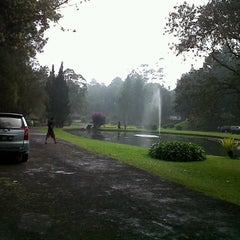Photo taken at Kebun Raya Taman Wisata Cibodas by Desy R. on 10/21/2012