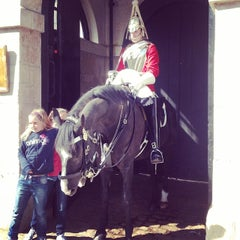 Photo taken at London 2012 Horse Guards Parade by Maksim on 5/2/2014