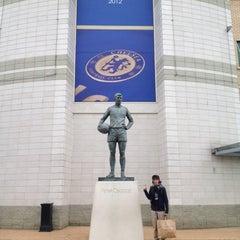 Photo taken at Stamford Bridge by Nicolas S. on 10/30/2012