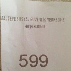 Photo taken at SGK Maltepe Sosyal Güvenlik Merkezi by Pınar Y. on 9/30/2015