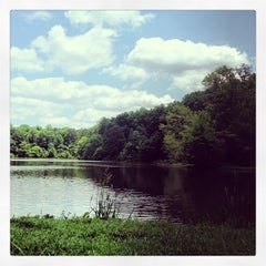 Photo taken at Lullwater Preserve by Emily B. on 6/15/2013