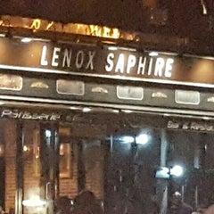 Lenox Saphire Bar Restaurant Menu