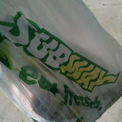 Photo taken at SUBWAY by Marvin on 10/30/2012